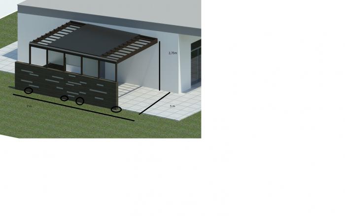Overdækket Terrasse Med Glas ~ Zimerfrei.com = Idées de Design Pour ...