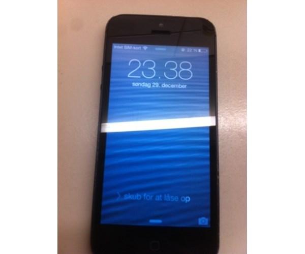 Iphone 5 Sort Brugt