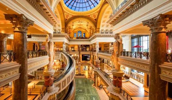 Forum Shops på Caesars Palace