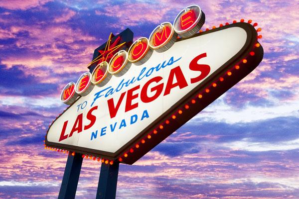Forberede rejsen til Vegas