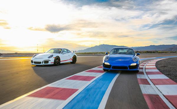 Las Vegas racerbaner og luksusbiler