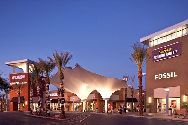 Restauranter og shopping i Las Vegas